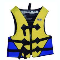 Colete Salva-vidas Mor 70 kg Amarelo e Azul -