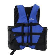 Colete Salva Vidas Nautika Coast Até 80KG Azul e Preto -