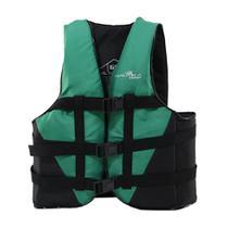 Colete Salva Vidas Nautika Coast Até 90kg Verde e Preto -