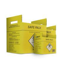 Coletor material perfuro cortante safe pack -