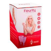 Coletor Menstrual Fleurity Tipo 1 Interno 2 Unidades -