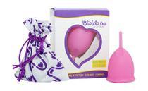 Coletor Menstrual Tipo B (Mulheres até 29 anos e sem filhos) - Violeta Cup Rosa -