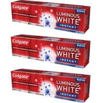 Colgate Luminous Instant White Creme Dental 70g (Kit C/03)