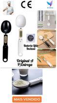 Colher Balança Digital Eletrônica  Com Colher De Medidas PRETO - Innivative Kitchen