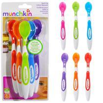 Colher Infantil Colorida Kit com 6 Unidades - Munchkin -