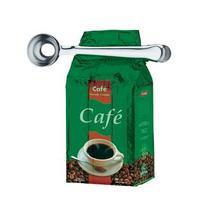 Colher medidora com prendedor para cafe, suplementos, acucar e farinha em inox - Gimp