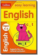 Collins easy learning - english - ages 4-5 - colli -