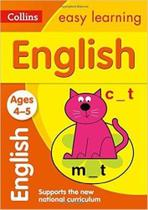 Collins Easy Learning - English - Ages 4-5 -