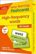 Collins Easy Learning Ks1 - High Frequency Words Flashcards -