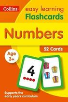 Collins Easy Learning - Numbers Flashcards - Age 3+ -