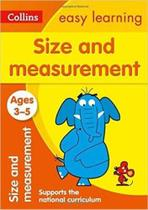 Collins Easy Learning - Size And Measurement - Ages 3-5 - New Edition -