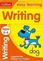 Collins Easy Learning - Writing - Ages 3-5 - New Edition -