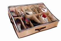 Colmeia Sapateira Flexível para 12 Pares Organização Sapatos - Vb Home