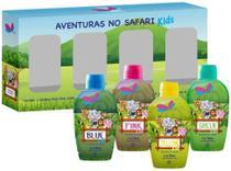 Colônia Delikad Kids Safari Quarteto Mini 4x60ml -