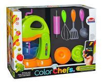 Color Chefs Kit Batedeira C/ App Verde Usual Plastic -