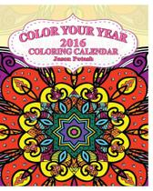 Color Your Year 2016 Coloring Calendar - Blurb -