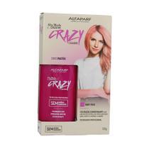 Coloração Condicionante  Crazy Colors Baby Rose Alta Moda 120g - Alfaparf -
