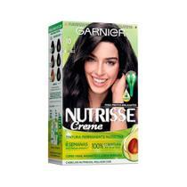 Coloração Nutrisse 10 Preto Ônix - Garnier -