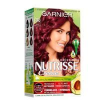 Coloração Nutrisse Coloríssimo Garnier 6660 Rouge - Garnier Nutrisse