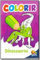Colorir - Dinossauros - Todolivro -