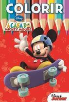 Colorir Médio Disney - A Casa do Mickey Mouse - Bicho Esperto -