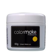Colormake Clown Makeup Amarelo - Tinta Cremosa 60g -