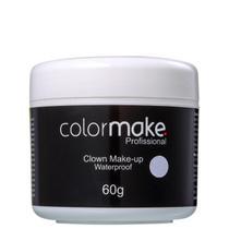 Colormake Clown Makeup Branco - Tinta Cremosa 60g -