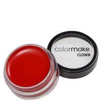 Colormake Mini Clown Makeup Vermelho - Tinta Cremosa 8g -