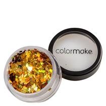Colormake Shine Formatos Diamante Ouro - Glitter 2g -