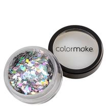 Colormake Shine Formatos Diamante Prata - Glitter 2g -