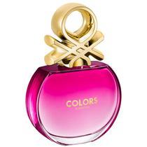 Colors Pink Benetton Eau de Toilette - Perfume Feminino 80ml -