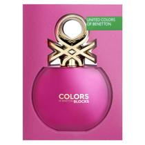 Colors Pink Collector Benetton Perfume Feminino - Eau de Toilette -