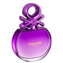 Colors Purple Benetton Eau de Toilette - Perfume Feminino 80ml -