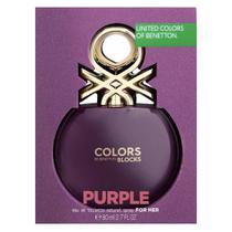 Colors Purple Collector Benetton Perfume Feminino - Eau de Toilette -