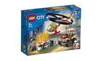 Combate ao Fogo com Helicóptero Lego City -
