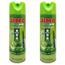 Combo 02un Jimo Open Air 300ml - Repelente Áreas Externas -
