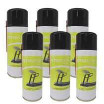 Combo 06 Spray Silicone Lubrificante Para Esteiras - Rythmoon