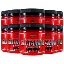 Combo 10 Glutamine Natural Isolates - 300g - Integralmedica -