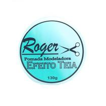 COMBO 10 Pomadas Modeladora Efeito Teia Roger 130g -