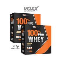COMBO 100 PRO WHEY VOXX 1,8kg - BAUNILHA - Voxx suplementos