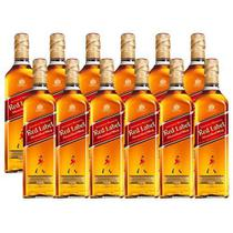 Combo 12  X Whisky Johnnie Walker Red Label 1000ml