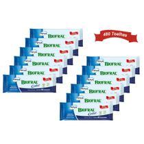 combo 12x biofral confort toalhas umedecidas geriátrica para higiene do corpo sem álcool 40unidades -