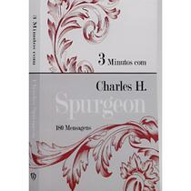 Combo 2 Devocionais 3 Minutos com Charles H. Spurgeon   Letra Grande - Livro Cristão -