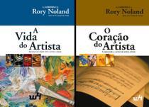 Combo - 2 itens: A Vida do Artista e O Coração do Artista Capa comum 2019 Rory Noland - W4 editora