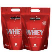 Combo 2 - Nutri Whey Protein - 1800g Refil Chocolate - Integralmédica - Integral Médica