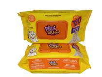Combo 2 pacotes lenço toalhas umedecidas Piqui Tucho 240 uni -