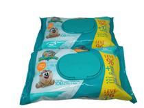 Combo 2 pacotes lenço toalhas umedecidas sem álcool 216 unid - Carta Fabril
