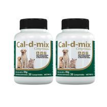 Combo 2 unidades Caldmix - 30 Comprimidos - Vetnil
