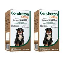 Combo 2 unidades Condroton 1000mg Vetnil - 60 comprimidos -