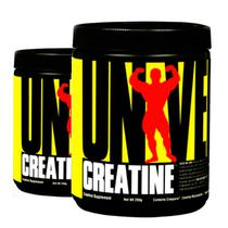 COMBO 2 UNIDADES - Creatina Powder 200g - Universal Nutrition